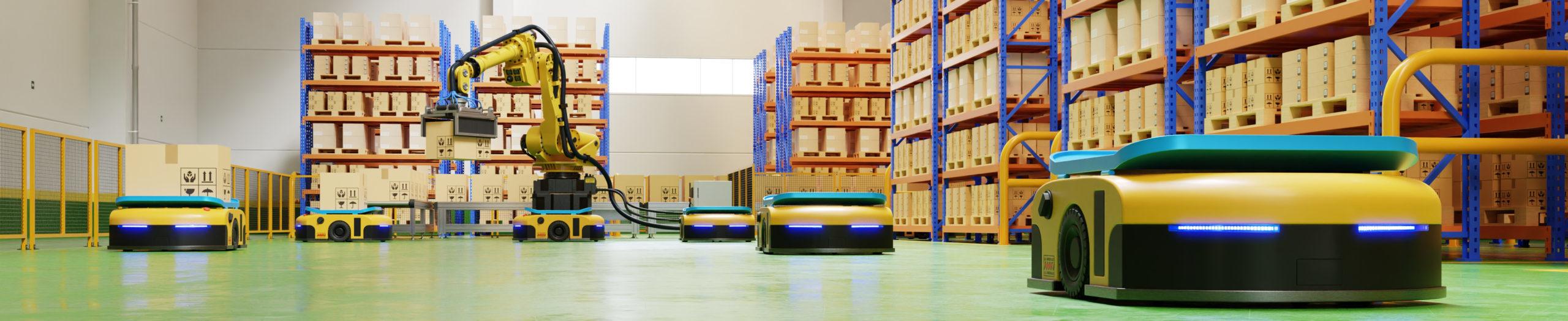 Gestion d'un entrepôt par des robots